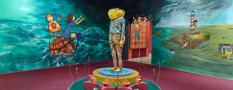 Immersive Musical Machines - OSGEMEOS' Exhibit Combines Art and Music To Recreate Human Imagination