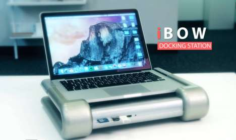 Graphics-Boosting Laptop Docks - The iBow External Graphics Docking Station Boosts Mac Performance