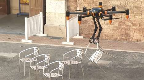 Armed Robot Drones - The Prodrone PD6B-AW-ARM Features Arms to Grasp and Lift Objects