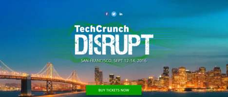 Video Game Innovation Conferences - TechCrunch Disrupt 2016 Takes Place on National Video Game Day