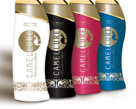 Luxe Camel Milk Shampoos - Camellure's Range of Hair Care Products is Inspired by Cleopatra