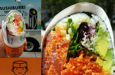 Sushi Burrito Food Trucks