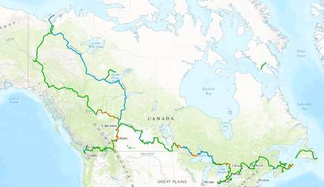 Transcontinental Recreational Trails - The Great Trail Will Stretch 24,000 Kilometers Across Canada
