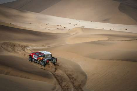 Lightweight Racing Trucks - The Powerful Hilux Evo Truck Will Compete At the Dakar Rally