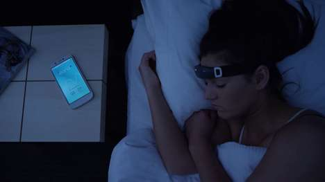 Lucid Dreaming Wearables - The iBand+ Helps Wearers Sleep Better and Experience Lucid Dreams