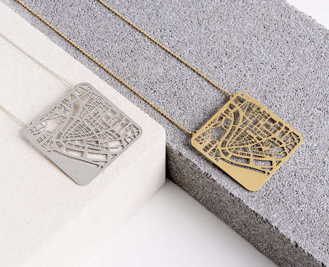 Urban Topography Jewelry
