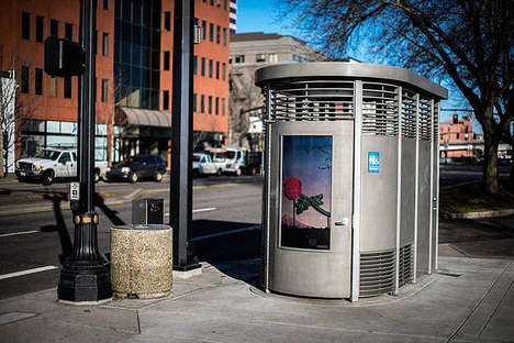 Crime-Preventing Public Toilets - The Portland Loo Offers a Community-Built, Safe Outdoor Bathroom