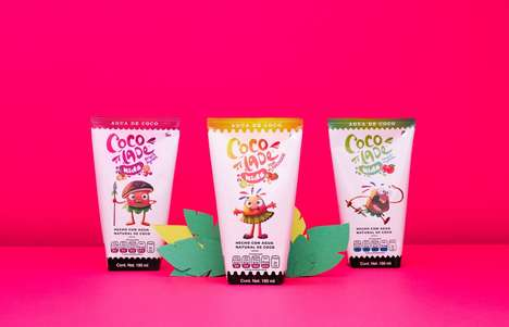Youthful Juice Packaging - This Juice Branding is Able to Perfectly Cater to Its Target Demographics