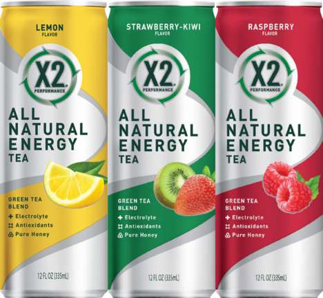 Sub Shop Energy Drinks - X2 All Natural Energy Tea is Flavored Tea That is Only Available at Subway