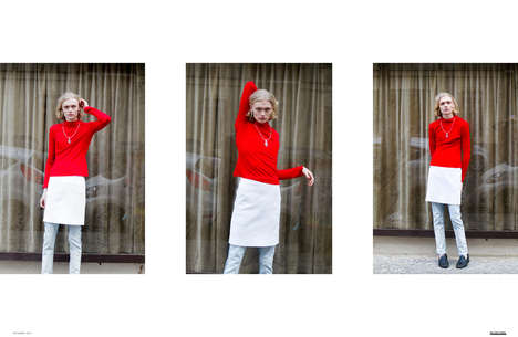 Candid Street Style Editorials - The Ones 2 Watch 'Instant' Fashion Story Boasts Spontaneous Imagery