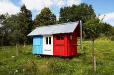 Miniature Prefab Homes - The Pin-Up Houses 'France' House Can be Assembled in Just Three Hours