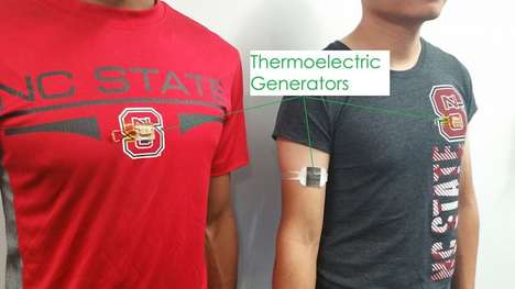 Power-Harnessing Wearables - These Thermoelectric Generators Turn Body Heat into Usable Electricity