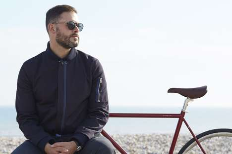 LED-Infused Cycling Apparel - The Lumo Collection is Stylish and Safe for Cycling at Night
