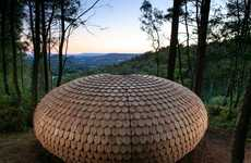 Shingled Spherical Pavilions