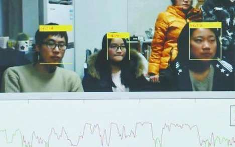 Boredom-Recognizing Software - Wei Xiaoyong's 'Face Reader' Identifies If His Students are Bored