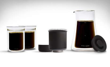 Scientific Coffee Equipment - The Fellow Stagg Pour-Over System Has Excellent Heat Retention