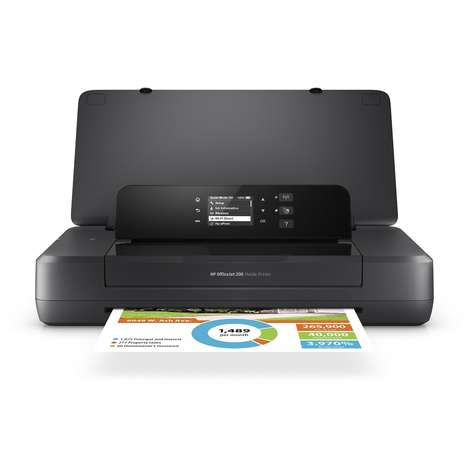 Office-Quality Mobile Printers - The HP OfficeJet 200 Enables Full Printing When Out of the Office