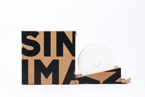 Easy-Open CD Boxes - This Delivery Package Serves as a More Functional Way to Ship CDs