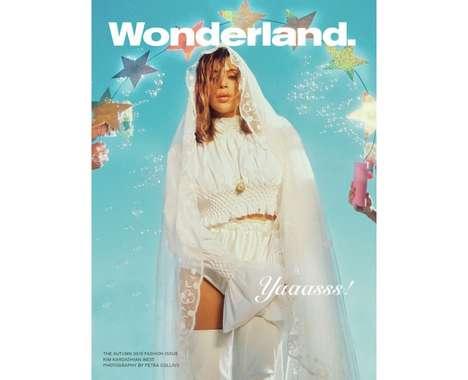 Dreamy Celebrity Bride Covers