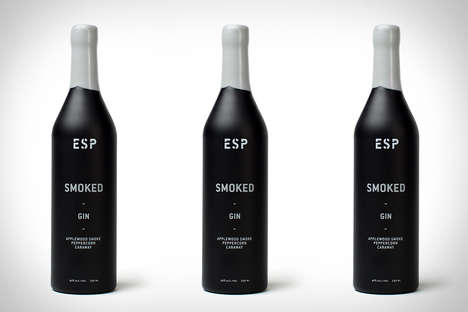Smokey Gin Flavors - This Gin Features Flavors with a Kick That is Uncommon in Drinks of Its Kind