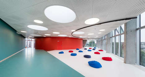Indoor Adult Playgrounds - This Gym Alternative Was Designed to Encourage Playful Physical Activity