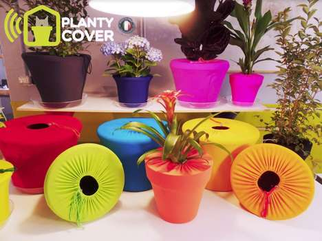Pet-Deterring Plant Covers - The Planty Cover Was Designed to Keep Pets & Kids from Scattering Soil