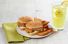 Snack-Sized Chicken Sandwiches - KFC's Chicken Littles Serve as a Lighter Dinner Option