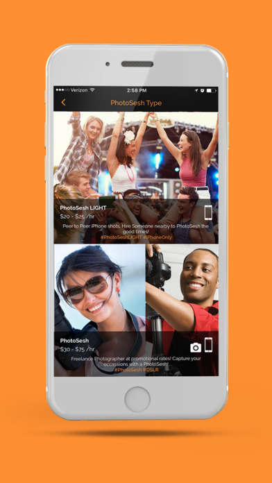 iPhone Photographer Apps - PhotoSesh Lite Lets NYC Users Hire a Professional iPhone Photographer