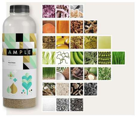 Nutritionally Complete Supplements - Ample Meal is a Portable Meal Replacement for Busy Consumers