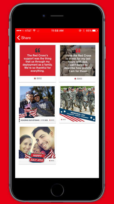 Military Family Apps - The Hero Care App Helps Military Families Access Red Cross Services