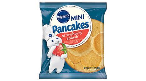 Miniature Frozen Pancakes - Pillsbury is Making Whole Grain Mini Pancakes in a Small, Frozen Format