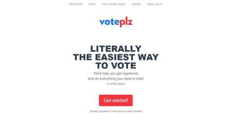 Online Voting Aids - 'Voteplz' is a Website That Makes Voting in the US Easy