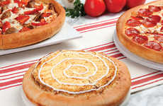 Autumnal Pizza Menus - Godfather's Pizza's Fall 2016 Menu Features Seasonal Toppings
