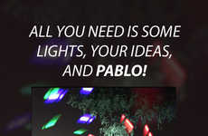 Light-Painting Photo Apps - The PABLO App Helps You Create Masterful Light-Painting Photos On iPhone