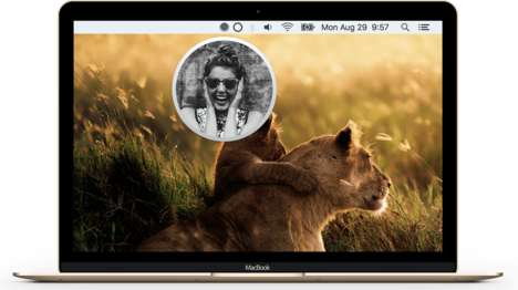 Digital Pocket Mirrors - 'Pearl' Lets Users See Themselves with One Click on the Mac Menubar