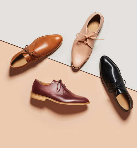 Sleek Oxford Shoes - Everlane's New Oxford Shoes are Crafted From Italian Leather