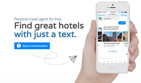 Hotel-Finding Text Services - This AI-Powered Chat Bot Helps Travellers Find the Best Hotel Options