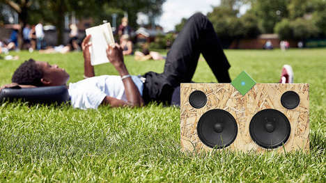 Sustainable Speaker Systems - The Vamp Can Now Be Used to Create a Portable Bluetooth Stereo System