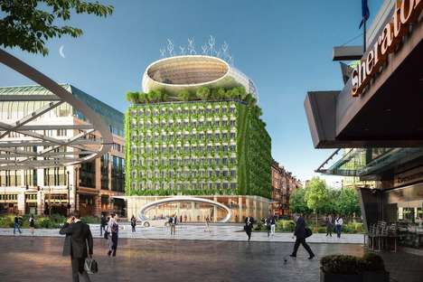 Energy-Capturing Apartment Buildings - The Brussels Botanic Center Apartment Upgrade is Eco-Focused