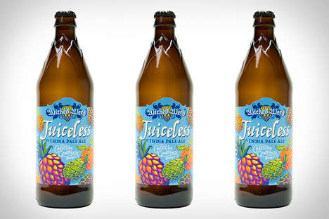Aromatic Fruit-Free Beers - The Wicked Weed Juiceless India Pale Ale Beer is Fruity without Fruit