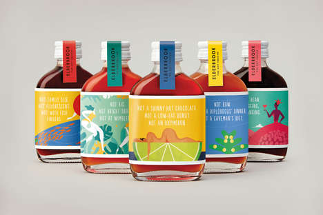 Subversive Beverage Branding - 'Elderbrook Drinks' Takes a Different Path When It Comes to Marketing
