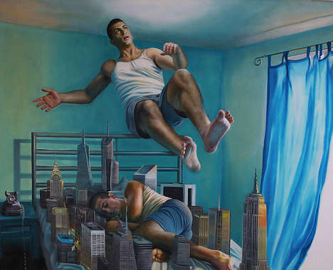 Out-of-Body Experience Paintings