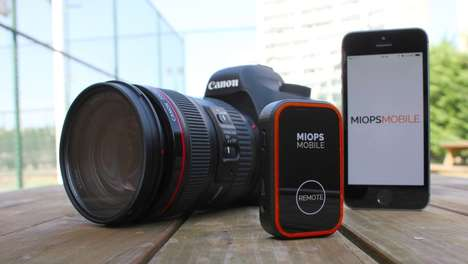 Sound-Sensing Camera Remotes - The Miops Mobile Remote Responds to Movement, Sound and Vibration
