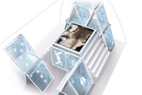 Melt-Proof Ice Hotels - The Icehotel 365 Will Stay Frozen All Year Roun