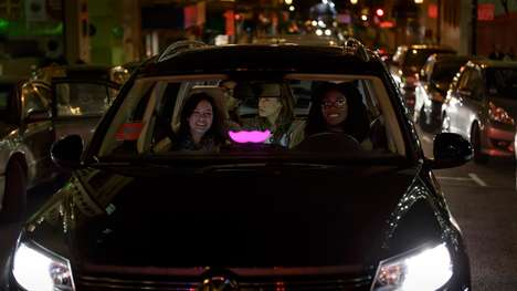 Anti-Drunk Driving Rideshare Campaigns - Lyft and Budweiser Have Partnered to Provide Free Rides