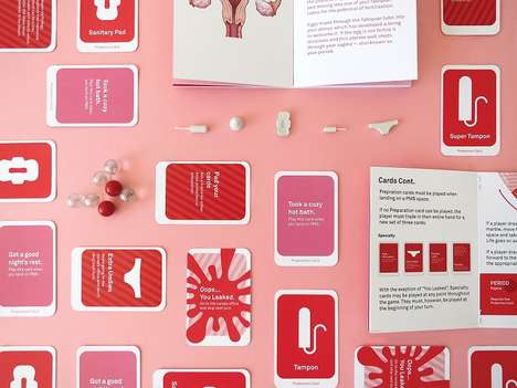 Educational Menstrual Cycle Games - This Board Game Shifts Tween Perspectives on Periods