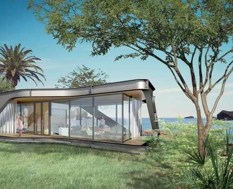 High-End Prefab Homes