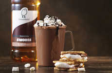 Campfire Snack Syrups - Sweetbirds Offer Consumers The Taste of S'more Sandwiches In a Sweetener
