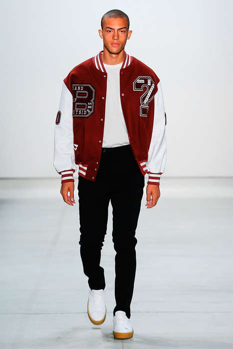 Versatile Baggy Menswear - The Band of Outsiders Spring Collection Takes Cues from LA Culture