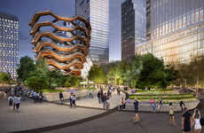 Honeycomb Staircase Structures - 'Vessel' Will be a Towering Stairway in New York's Hudson Yards